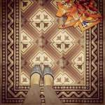 historic tile reproduction - for Instagram